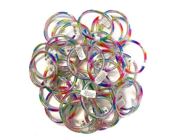 Multi-Colour-Glitter-Bangle-MyLollies